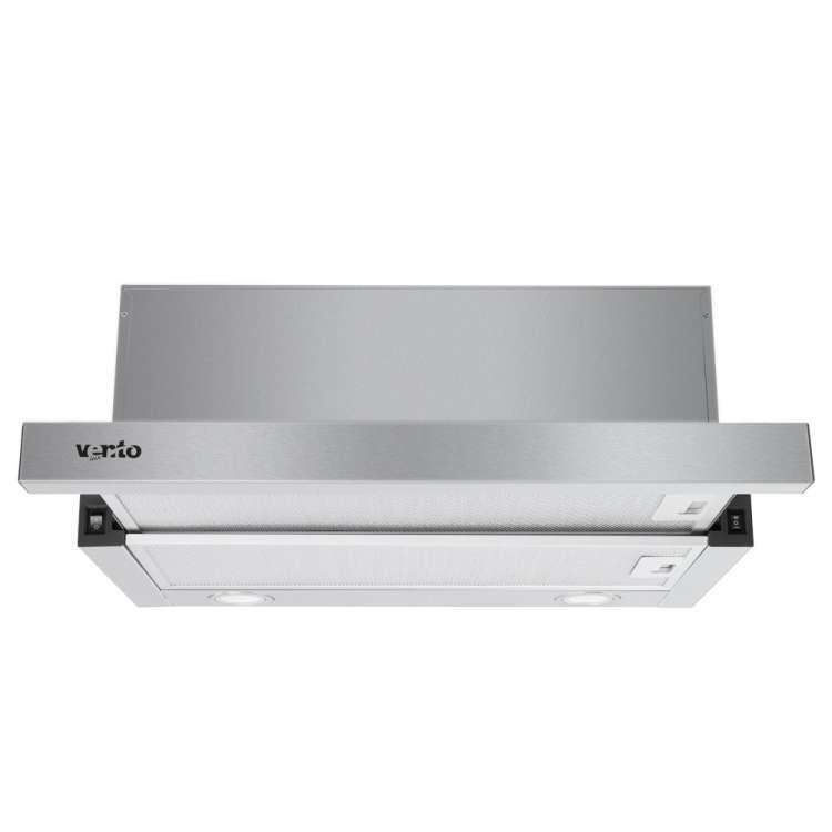 Вытяжка Ventolux GARDA 60 INOX (800) LED Телескопическая Нержавеющая сталь
