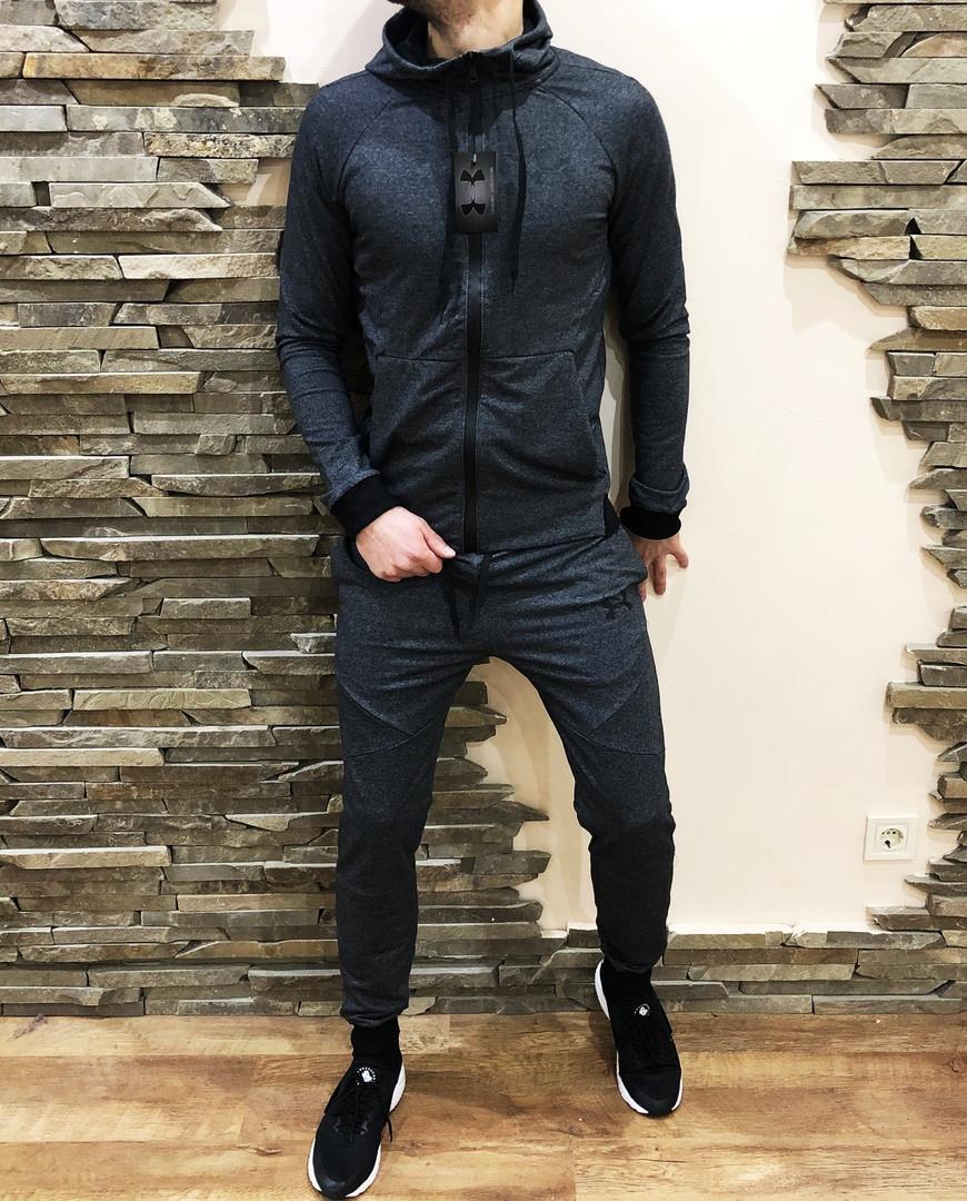 Мужской спортивный костюм Reebok серый
