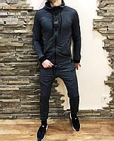 Мужской спортивный костюм Reebok серый, фото 1