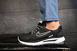 Мужские кроссовки кожаные Nike весна/осень черные CrosSAV 316, фото 4