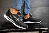 Мужские кроссовки кожаные Nike весна/осень черные CrosSAV 316, фото 5
