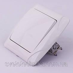 Выключатель одноклавишный VI-KO Carmen скрытой установки (белый)
