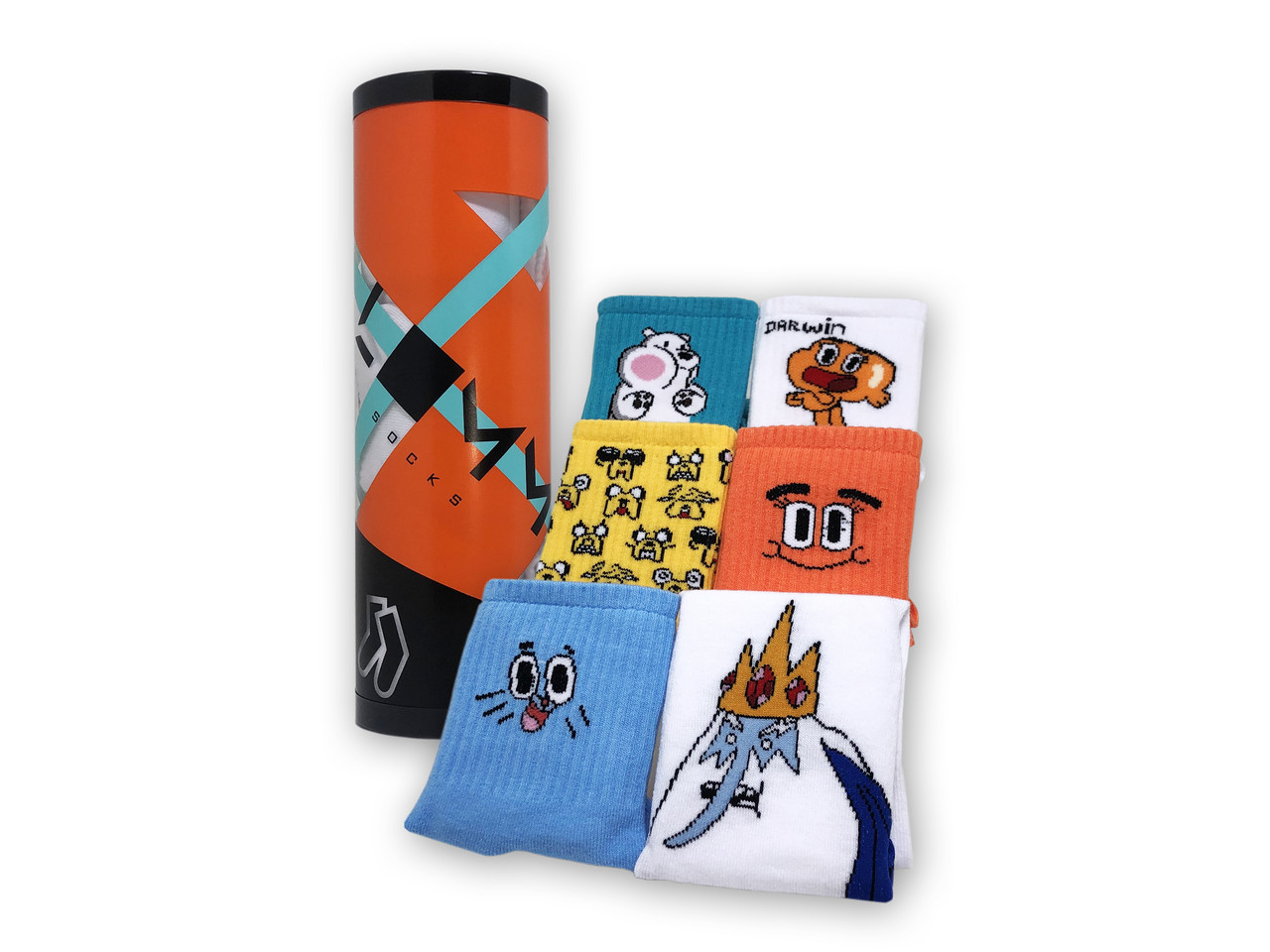 Тубус с носками Adventure time tube
