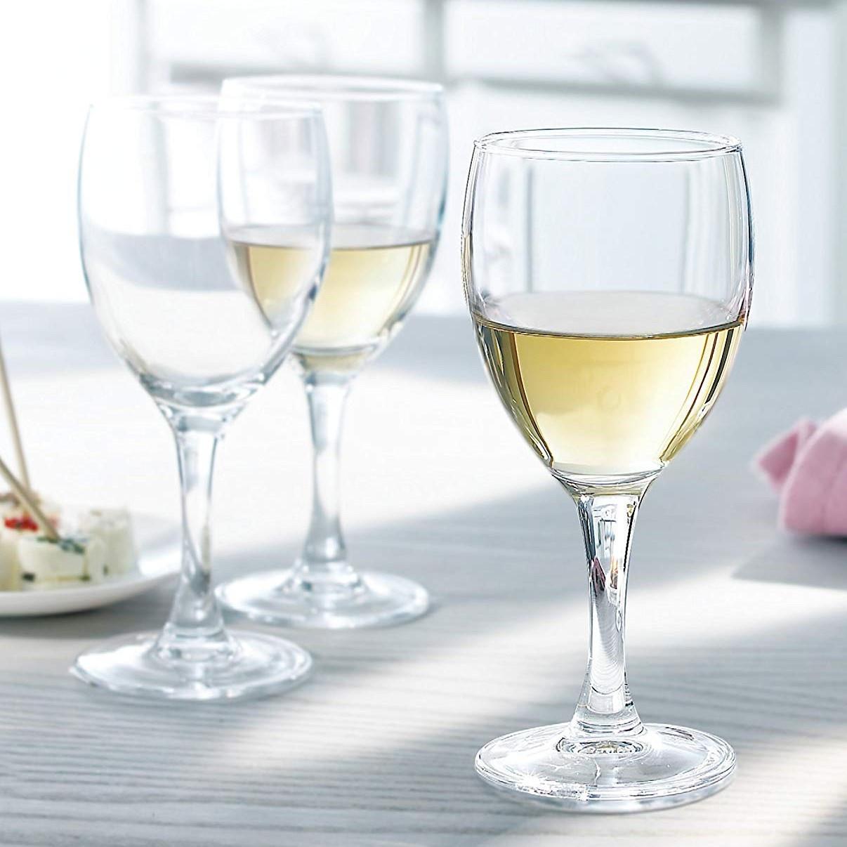 """Стеклянный бокал для воды и вина Arcoroc """"Элеганс"""" 245 мл  (L7872)"""
