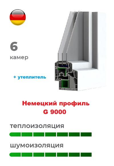 Немецкий профиль G 9000 пластиковых окон