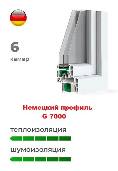 Немецкий профиль G 7000 пластиковых окон
