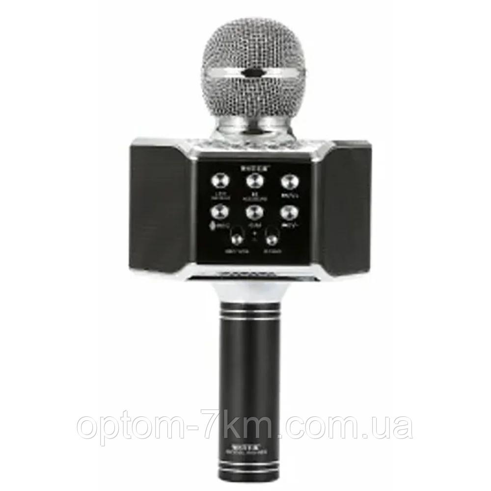 Бездротовий мікрофон колонка караоке WS-868 R