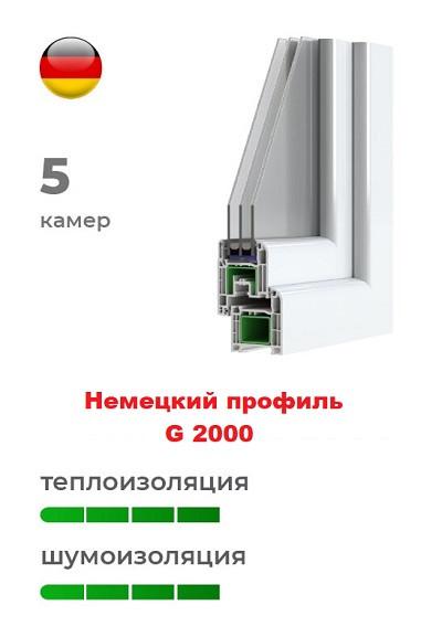 Немецкий профиль G 2000 пластиковых окон
