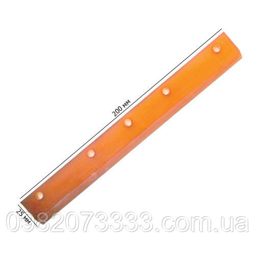 Поліуретан вузький Extra Soft 20см (200х25мм). Застосовується для розгладження і попереднього віджиму води