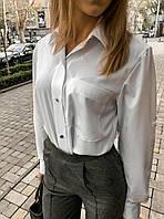 Женская стильная  блуза рубашка белый