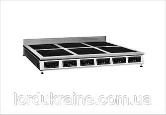 Плита индукционная настольная 6-ти конфорочная Сквара Sit 6.18 (6х3 кВт)