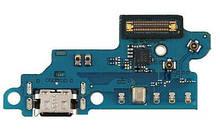 Шлейф Samsung A606F Galaxy A60/ M405 Galaxy M40, з роз'ємом зарядки, з мікрофоном