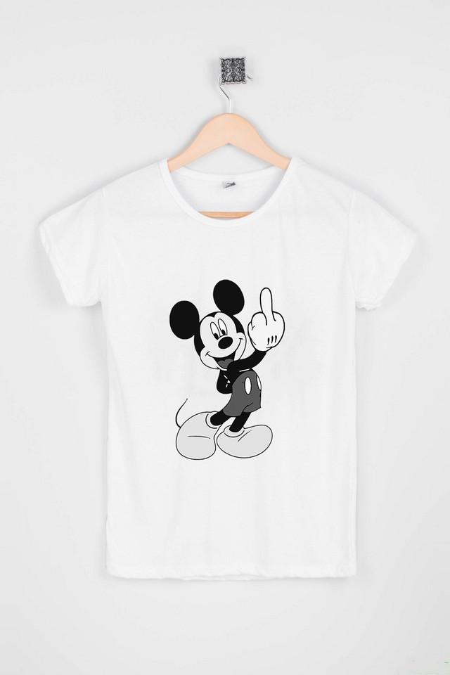 Жіноча модна футболка з Міккі