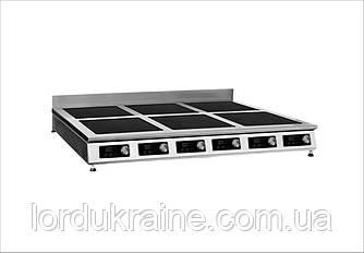 Плита индукционная настольная 6-ти конфорочная Сквара Sit 6.21 (6х3,5 кВт)