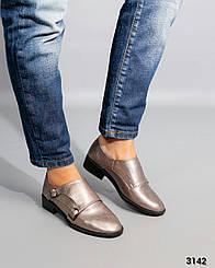 Туфли - Монки. Две пряжки.