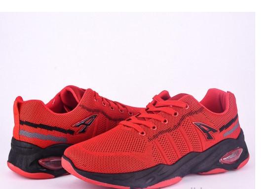 Кроссовки мужские Violeta-45-62-red-black