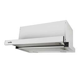 Вытяжка Ventolux GARDA 60 WH (1000) LED Телескопическая, Белая