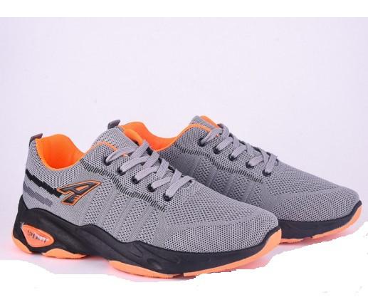 Кроссовки мужские Violeta-45-62-grey-orange