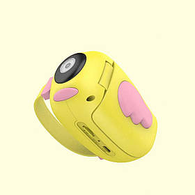 Детская видеокамера Children's Digital Camera HD ET010 Желтый