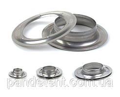 Люверсы 10,12,16,20,25,40,42х22 мм нержавеющие (блочки, кольца)