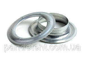 Люверсы, кольца 40 мм для пломбировки тента, шторы на прицеп, полуприцеп