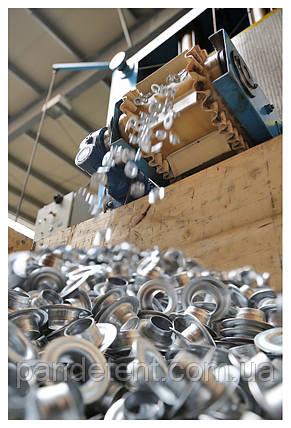 Люверсы 10мм -1000 шт (0,6 мм) Польша для баннеров, тентов, штор, палаток, ткани, фото 2