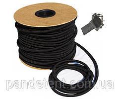 Эластичный шнур 8мм (эспандер) для крепления тентов на прицеп, фуру