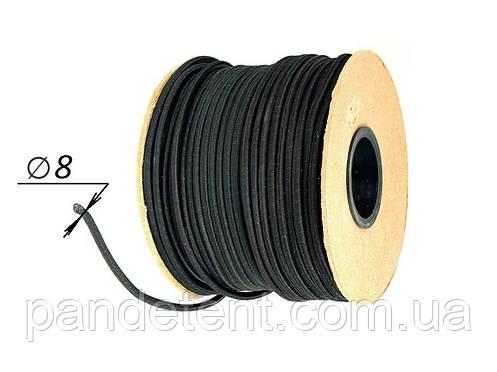 Эспандер- эластичный шнур Ø 8 - 50 метров в защитной оплётке для тента, фото 2