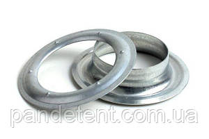 Люверсы, кольца круглые 40 мм (1000 шт.), оцинкованные, Польша