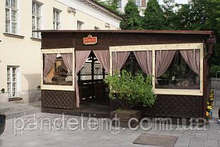 Крепление мягких окон ПВХ на беседку, террасу, летнее кафе, склад, гараж, фото 3