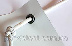 Эластичный шнур(эспандер) для монтажа баннера Ø 8 мм (Польша) -белый