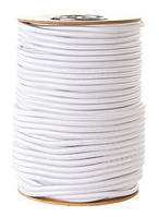 Эластичный шнур(эспандер) для аттракционов Ø 8 мм (Польша) -белый