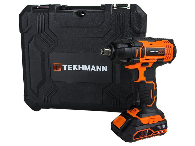 Аккумуляторный ударный гайковерт Tekhmann TIW-300/i20 kit (300 Нм)
