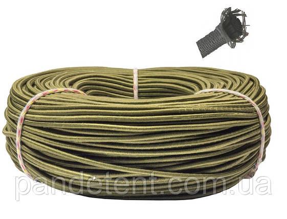 Эспандер эластичный шнур 8 мм цвет Хаки (Польша) для лодки фитнеса спорта тренировок , сняряжения, фото 2