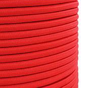 """Эластичный шнур """"Эспандер"""" 8мм цвет- красный (Польша) для фитнеса, бокса, борьбы, тренировок, спорта"""