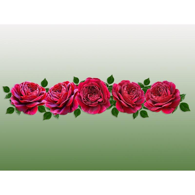 """Наклейка """"Червоні троянди"""""""