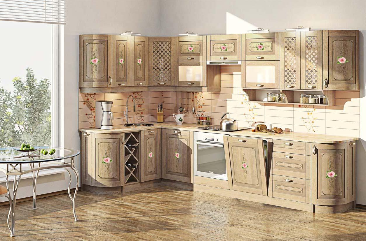 Кухня Французский Престиж, Комфорт-мебель