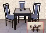Стол обеденный Милан с камнем, Модуль Люкс, фото 3
