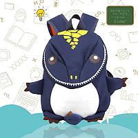 """Детский рюкзак """"Динозавр-дракон"""" Тёмный синий от Weicelg"""