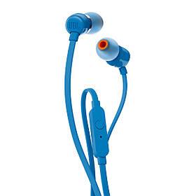 Проводные наушники JBL T110 Blue Original