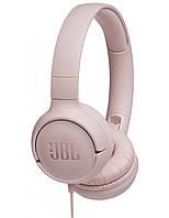 Проводные наушники JBL T500 Pink Original