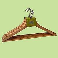 Плечики-вешалки деревянные для одежды Helfer (6 шт)