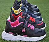 Детские демисезонные кроссовки Nike callion найк синие 31-35, фото 2