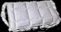 Бортик / захист в дитяче ліжечко / бортик защита в кроватку 59 * 33 см білий кант, фото 1