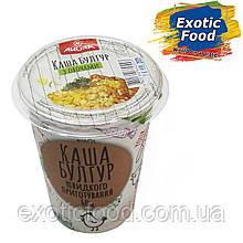 Каша Булгур Швидкого Приготування з Овочами 60г