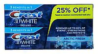 Crest 3D White зубная паста ( 2*75 г мл) Arctic Fresh