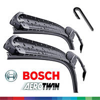 600/450мм дворники Bosch AeroTwin AR604S Склоочисники