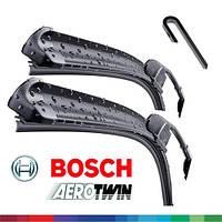 600/500мм дворники Bosch AeroTwin AR606S Склоочисники