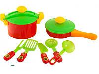 Набор игрушечной посуды Kinderway 04-433, 9 предметов