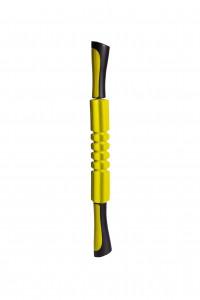 Масcажер роликовый ручной PowerPlay Massage Bar 4024 Жовтий